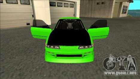 Nissan Silvia S13 Drift Monster Energy para visión interna GTA San Andreas