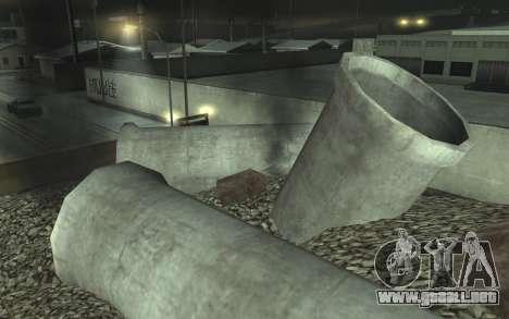 La reparación de los caminos v2.0 para GTA San Andreas séptima pantalla