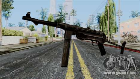MP40 from Battlefield 1942 para GTA San Andreas