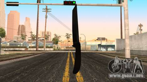 Nuevo cuchillo para GTA San Andreas tercera pantalla