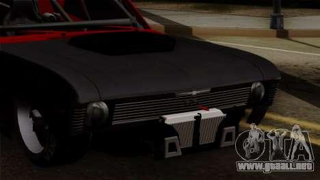 Chevrolet Nova SS para visión interna GTA San Andreas
