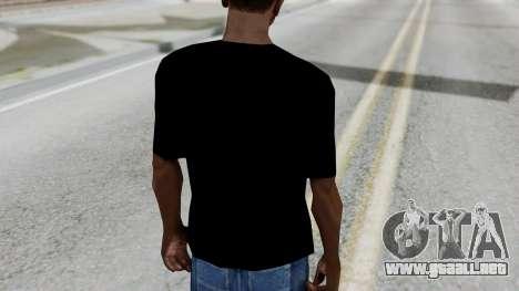 T-shirt from Jeff Hardy v1 para GTA San Andreas tercera pantalla