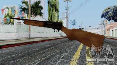 Browning Auto-5 from Battlefield 1942 para GTA San Andreas segunda pantalla