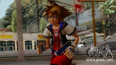 Kingdom Hearts 2 - Sora KH1 Costume para GTA San Andreas