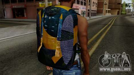Brasileiro Parachute v2 para GTA San Andreas tercera pantalla