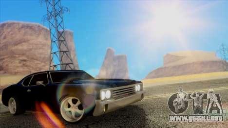 Fantastic ENB para GTA San Andreas séptima pantalla