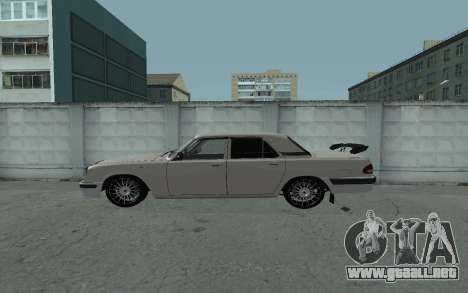 GAS de 31105 Volga para GTA San Andreas left