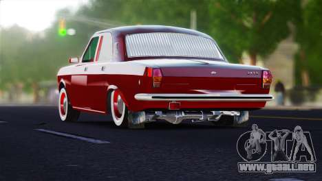 GAZ Volga 2401 tuning para GTA 4 Vista posterior izquierda