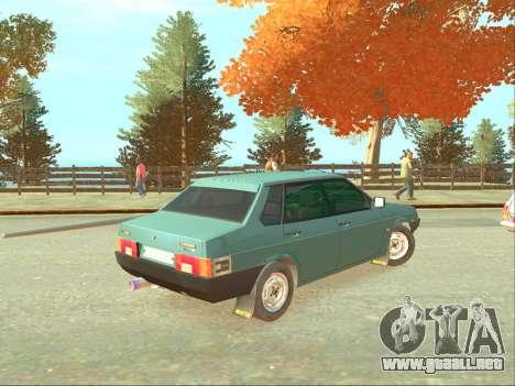 VAZ 21099 para GTA 4 left