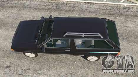 GTA 5 Volkswagen Parati Surf vista trasera