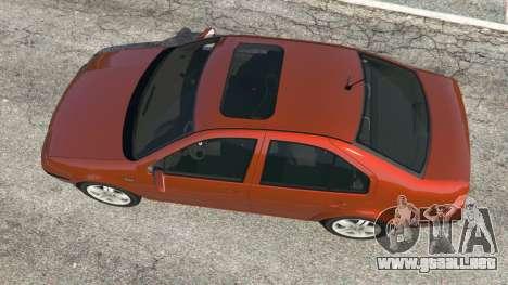 GTA 5 Volkswagen Bora vista trasera