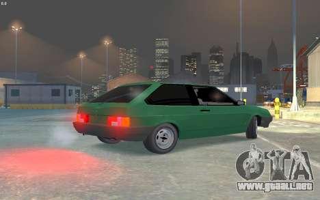 VAZ 2108 para GTA 4 visión correcta