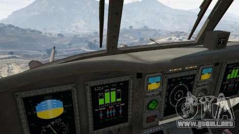 GTA 5 MH-47G Chinook quinta captura de pantalla
