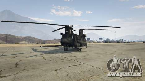 GTA 5 MH-47G Chinook