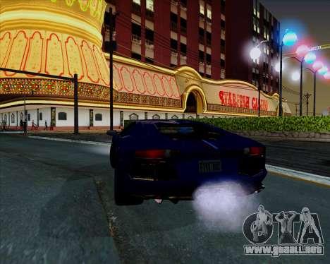 Vitesse ENB V1.1 Low PC para GTA San Andreas sexta pantalla