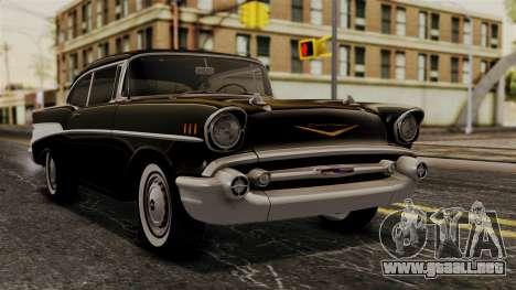 Chevrolet Bel Air Sport Coupe (2454) 1957 HQLM para GTA San Andreas