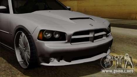 Dodge Charger 2006 DUB para GTA San Andreas interior