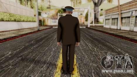 Suboficial mayor de la fuerza aérea para GTA San Andreas tercera pantalla
