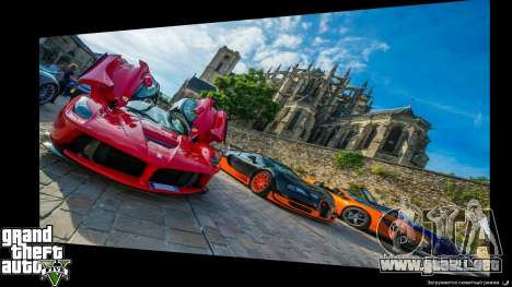 GTA 5 Supercars Loading Screens