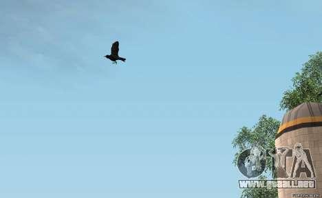 Los cuervos para GTA San Andreas segunda pantalla