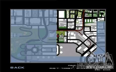 La reparación de los caminos v2.0 para GTA San Andreas novena de pantalla