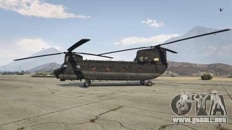 GTA 5 MH-47G Chinook segunda captura de pantalla