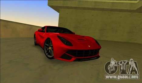 El Ferrari F12 Berlinetta para GTA Vice City