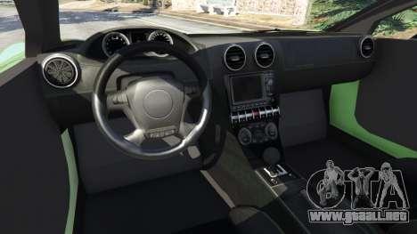 GTA 5 Arrinera Hussarya v2.0 vista lateral trasera derecha