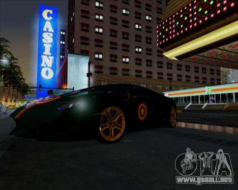 Vitesse ENB V1.1 Low PC para GTA San Andreas segunda pantalla