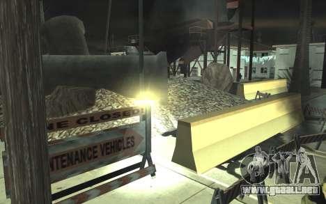 La reparación de los caminos v2.0 para GTA San Andreas octavo de pantalla