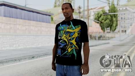 T-shirt from Jeff Hardy v1 para GTA San Andreas