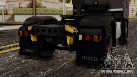 Iveco EuroStar Low Cab para la vista superior GTA San Andreas
