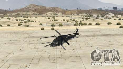 GTA 5 MH-60L Black Hawk cuarto captura de pantalla