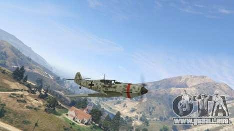 GTA 5 Messerschmitt BF-109 E3 v1.1 segunda captura de pantalla