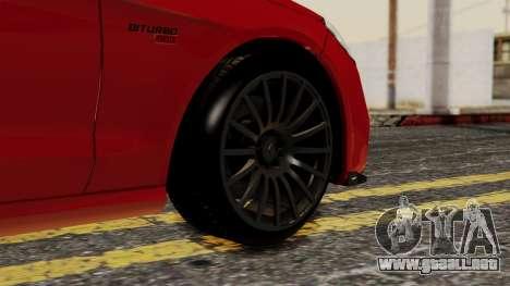 Brabus B900 para GTA San Andreas vista posterior izquierda