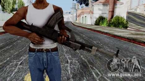 Bren LMG from Battlefield 1942 para GTA San Andreas tercera pantalla
