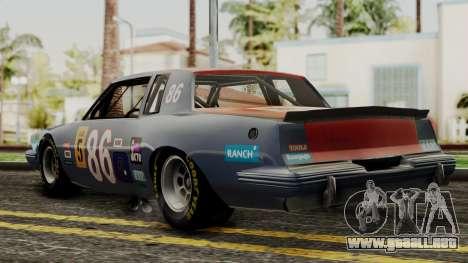 Pontiac GranPrix Hotring 1981 IVF para GTA San Andreas left