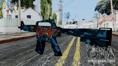 M4A1-S Master Piese para GTA San Andreas segunda pantalla