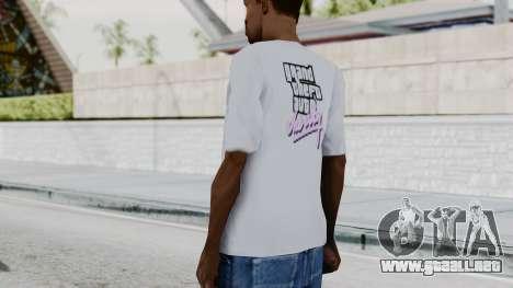 GTA Vice City T-shirt White para GTA San Andreas tercera pantalla