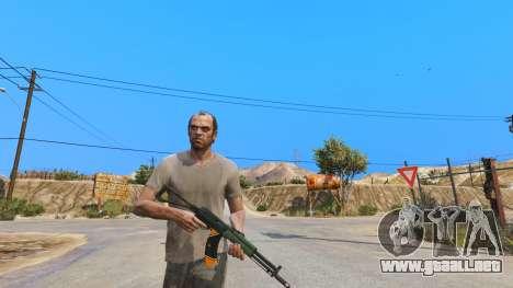 GTA 5 El AEK-971 из Battlefield 4