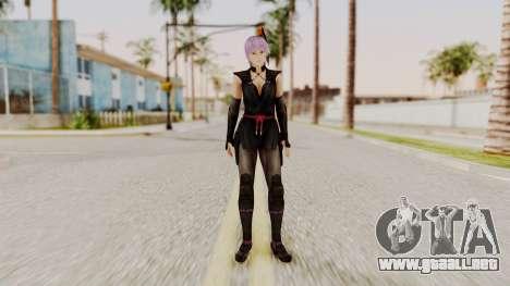 DOA 5 Ayane Ninja para GTA San Andreas segunda pantalla