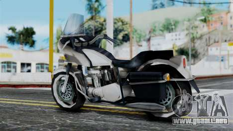 Bike Cop from Bully para GTA San Andreas left