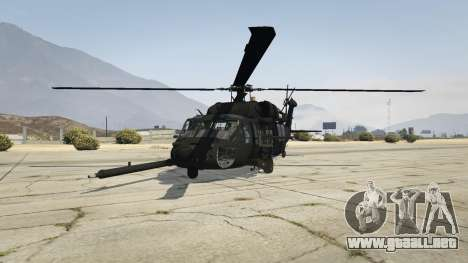 GTA 5 MH-60L Black Hawk