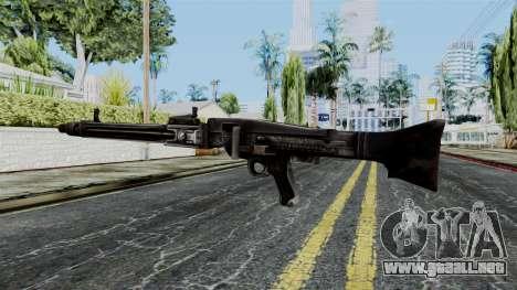MG 42 from Battlefield 1942 para GTA San Andreas segunda pantalla