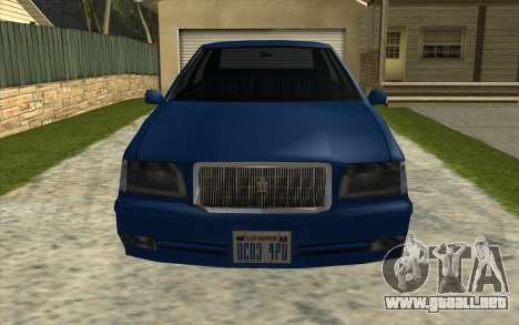 Toyota Crown Majesta Estilo GTA para GTA San Andreas left