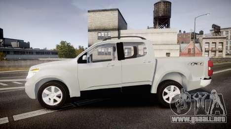 Chevrolet S10 LTZ 2014 v0.1 para GTA 4 left