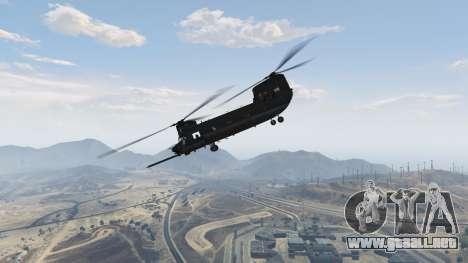 GTA 5 MH-47G Chinook octavo captura de pantalla