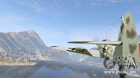 GTA 5 Messerschmitt BF-109 E3 v1.1 sexta captura de pantalla