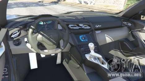 GTA 5 Lykan HyperSport 2014 vista lateral derecha