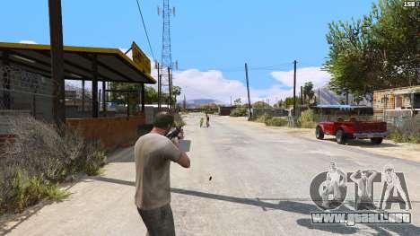 GTA 5 SAIGA de Battlefield 4